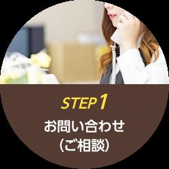 step1 お問い合わせ(ご相談)